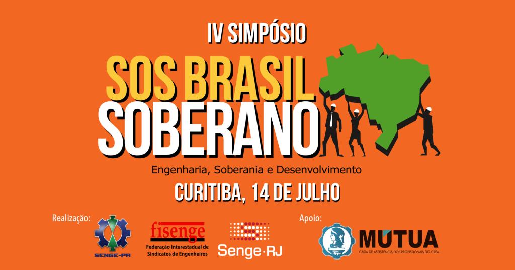 Imagem ilustrativa para Curitiba sedia o 4º Simpósio SOS Brasil Soberano, em julho