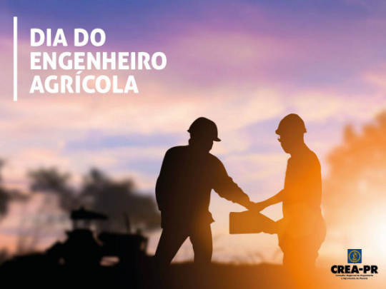 27/10 Dia do(a) Engenheiro(a) Agrícola