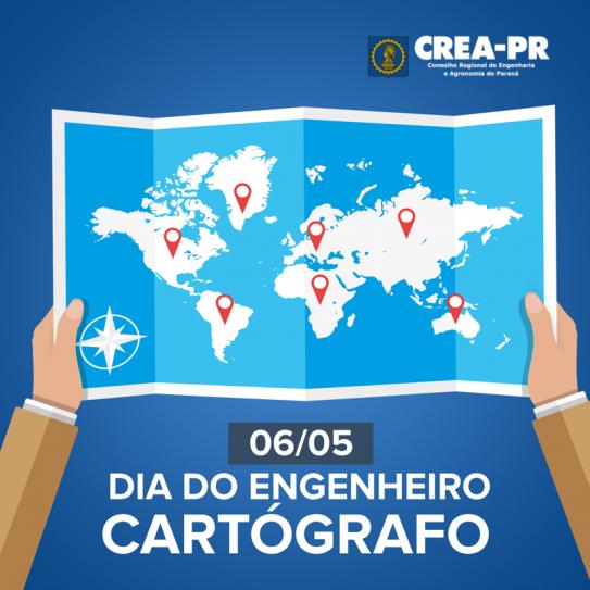 06/05 Dia do Engenheiro Cartógrafo