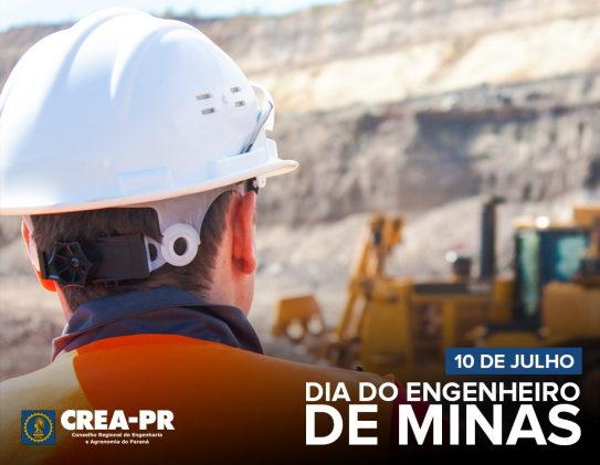 10/07 Dia do(a) Engenheiro(a) de Minas