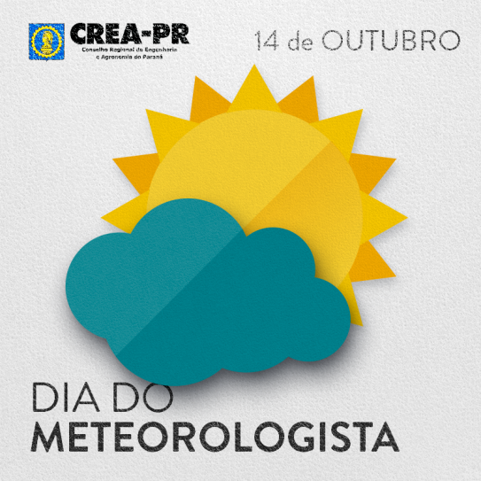 14/10 Dia do(a) Meteorologista