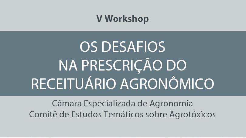 Imagem ilustrativa para Crea-PR realiza 5º Workshop 'Os Desafios na Prescrição do Receituário Agronômico'