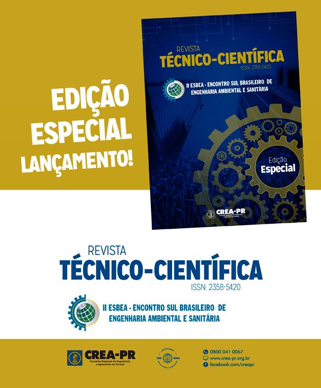 Imagem ilustrativa para Nova edição da Revista Técnico-Científica do Conselho é lançada durante o II ESBEA