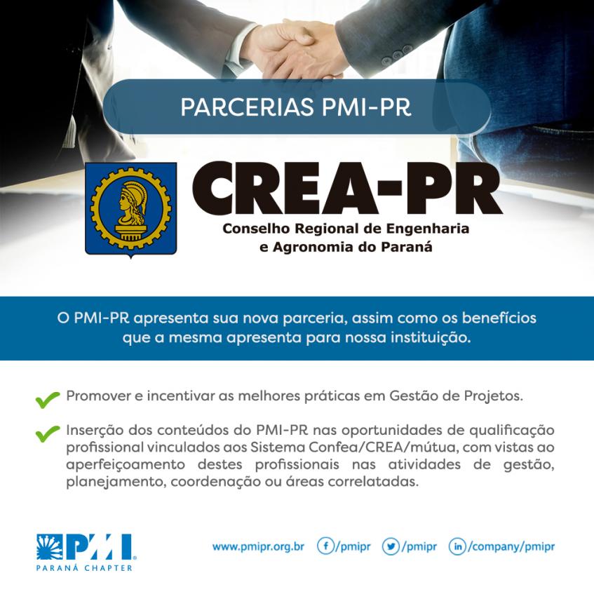 Imagem ilustrativa para Crea-PR firma convênio com o Project Management Institute Paraná