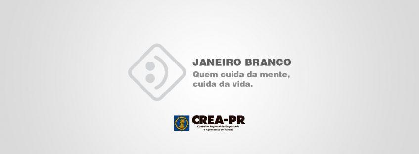 Imagem ilustrativa para Janeiro Branco, o Crea-PR apoia essa causa