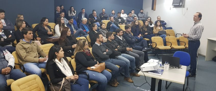 #pratodosverem Palestra sobre novo sistema ART na Regional Cascavel