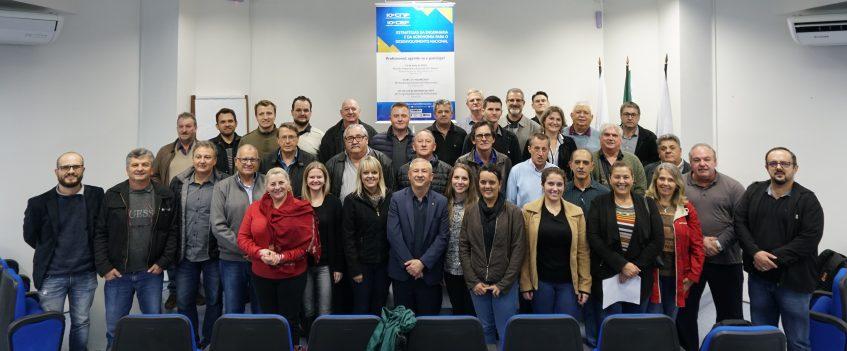 #pratodosverem Participantes da Reunião Preparatória Regional em Pato Branco