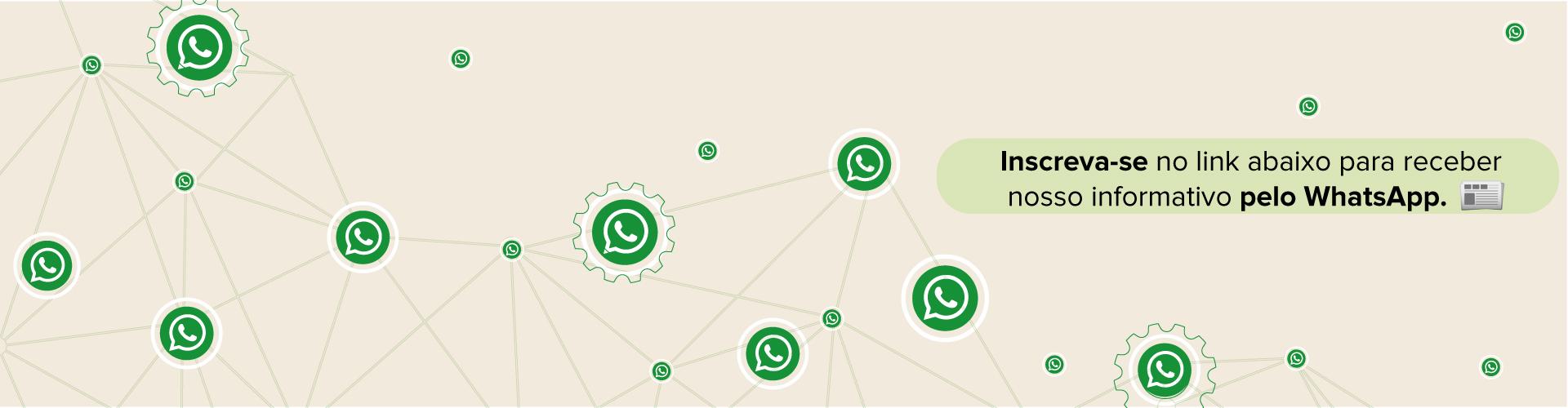 Inscreva-se no Informativo do Crea-PR no WhatsApp