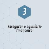 3. Assegurar o equilíbrio financeiro